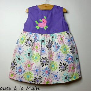 Robe Bébé Imprimé Etoiles Multicolores