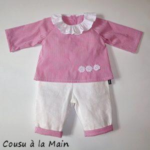 Ensemble Bébé Fille Pantalon & Brassière