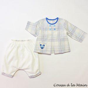 Ensemble Bébé Garçon Pantalon & Chemise