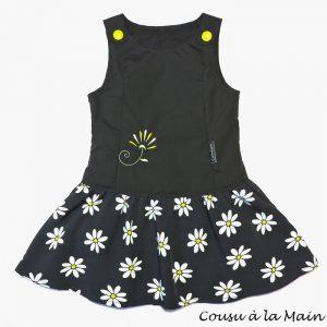Robe Chasuble Enfant Imprimé Noir&Blanc